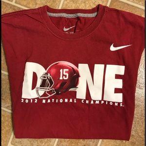 Alabama Crimson Tide 2012 Champion t-shirt
